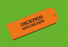 Drukprijs save the date